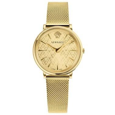 Versace Saat Altın